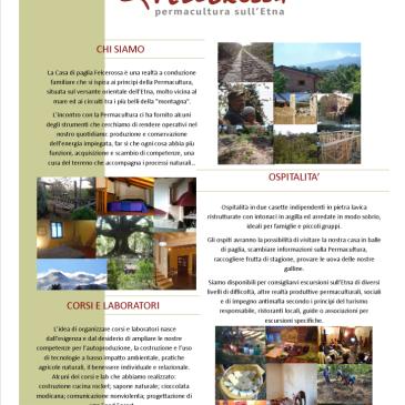 Vacanze sostenibili sull'Etna